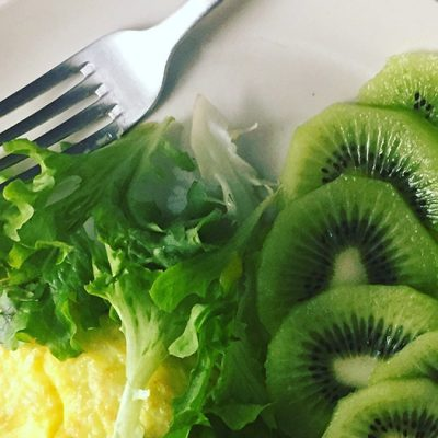 Healthy low fat breakfast