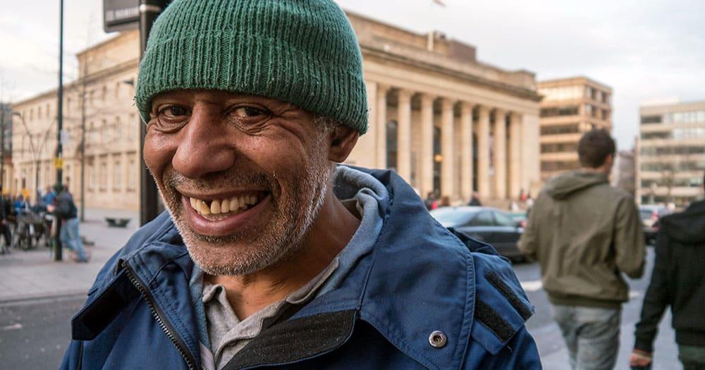 Homeless, mentally ill man