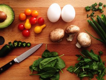 Nutritious fresh cooking ingredients